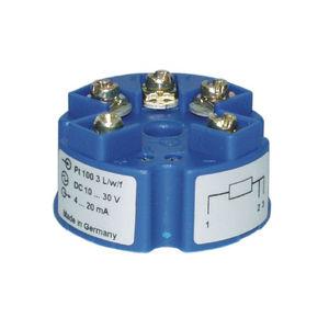 trasmettitore di temperatura su testa di sonda / RTD / Pt100 / 2 cavi