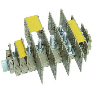 morsetto componibile a perno / su guida DIN / di potenza / per correnti forti