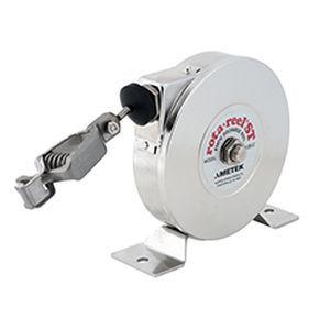 avvolgitore di messa a terra / a richiamo automatico / fisso / compatto