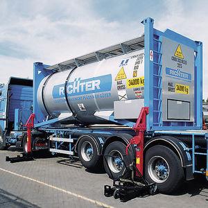 sistema di carico e scarico di container