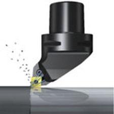 utensile di tornitura esterno / a flangia / di precisione / con fluido di raffreddamento ad alta pressione