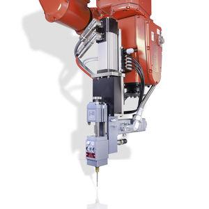 miscelatore-dosatore per l'industria elettronica / per l'industria automobilistica / a pistone / di fluidi