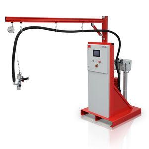 miscelatore-dosatore con pompa a ingranaggi / per colla / monocomponente