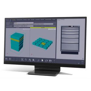 software di gestione dei magazzini WMS / per la gestione utensile / di controllo qualità / di gestione dati