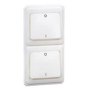 interruttore a bascula / 2 poli / AC / on/off