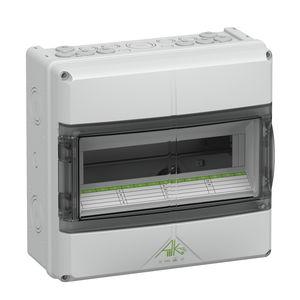 scatola elettrica modulare / in policarbonato / per distribuzione elettrica / preassemblata