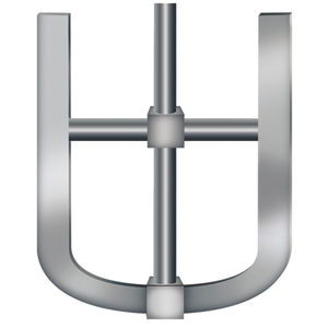 elica tipo ancora / per agitatore / a flusso radiale