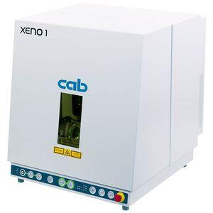 macchina di marcatura laser pulsato a fibra / benchtop / compatta / automatica