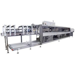 fardellatrice automatica / per bottiglie in vetro / per cartone / di manipolazione di scatole