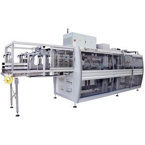 macchina per imballaggio automatica / in continuo / compatta / per cartone