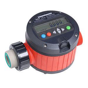 misuratore di portata a disco oscillante / per carburante / per prodotti chimici / per acido