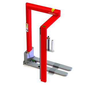 avvolgitrice fasciapallet a braccio rotante / per pellicola estensibile / mobile