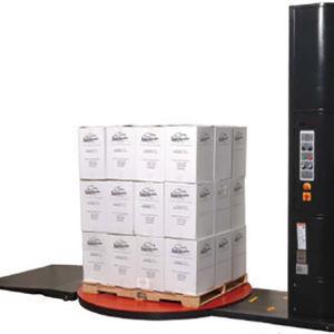 avvolgitrice fasciapallet a tavola rotante / per prodotti finiti / per pacchetti / per pellicola estensibile