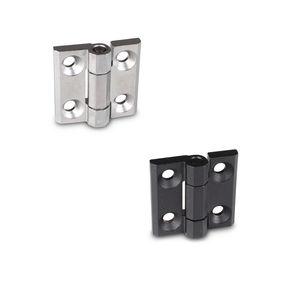 cerniera in acciaio inossidabile / avvitabile / 180° / rinforzata