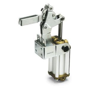 attrezzo di bloccaggio pneumatico / verticale / per carichi pesanti / in acciaio