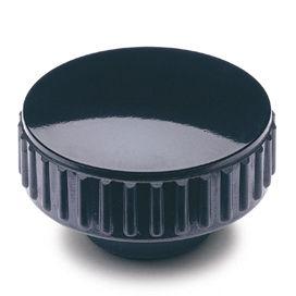 dado zigrinato / in acciaio / in plastica