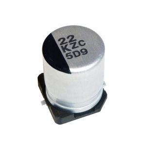 condensatore elettrolitico / in alluminio / polimerico / SMD