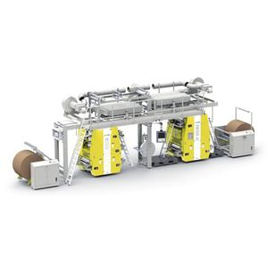 macchina da stampa flessografica per carta / in linea / a 8 colori / a 6 colori