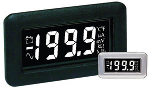 voltmetro LCD