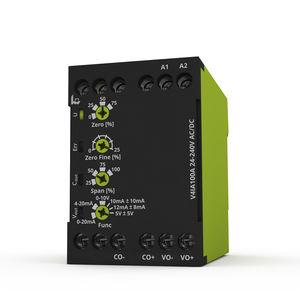 trasmettitore di corrente a trasformatore / su guida DIN / DC / AC