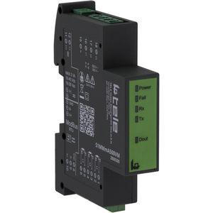 contatore di energia elettrica trifase / su guida DIN / programmabile / RS-485