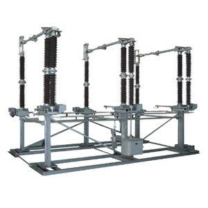 interruttore-sezionatore ad alta tensione / da esterno / AC / a doppia colonna