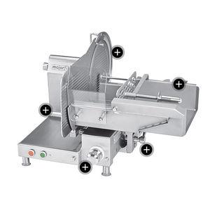 affettatrice per prosciutti / automatica / verticale / industriale