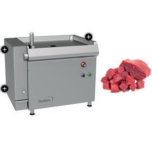 cubettatrice per carne / per pesce / compatta / in acciaio inossidabile