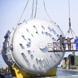 reattore sotto alta pressione