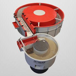 macchina di burattatura centrifuga / a flusso continuo