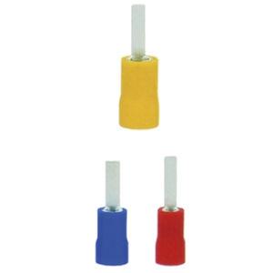 capocorda senza saldature maschio / a compressione / rettangolare / isolamento in nylon