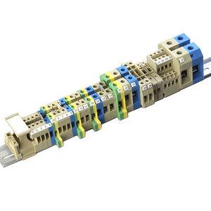 morsetto componibile con connessione a vite / su guida DIN / in materia plastica / a fusibile