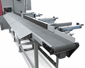 sistema di smistamento con spingitori / automatico
