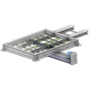 sistema di scarico per tramoggia / per silo / per recipienti riempiti / automatico