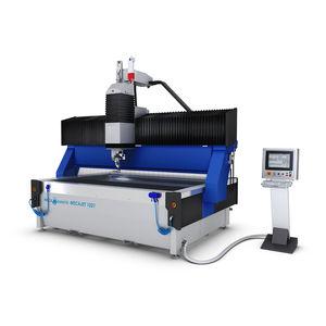 macchina da taglio a getto d'acqua / per titanio / per acciaio inossidabile / per alluminio