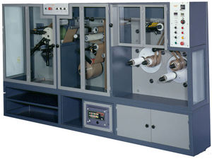 macchina da stampa flessografica a 3 colori