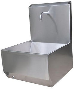 lavabo in acciaio inox