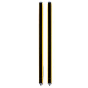 barriera fotoelettrica di sicurezza di tipo 2 / multifascio / a barriera / protezione delle mani