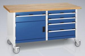 banco da lavoro in legno / mobile / a cassetti