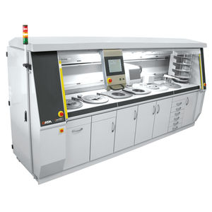 macchina smerigliatrice-lucidatrice per laboratorio di metallografia