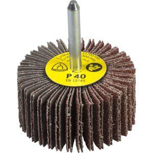spazzola cilindrica / di finitura / per pulizia di saldatura / di pulizia