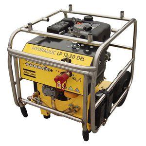 centralina idraulica con motore diesel