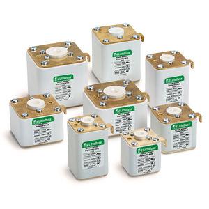 fusibile quadrato / azione super rapida / DC / per semiconduttore