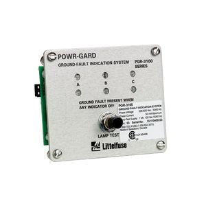 indicatore di difetti di massa / di tensione / LED / da montare su pannello