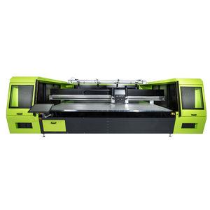 macchina da stampa a base piana / digitale / multicolore / per tessili