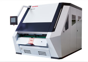 macchina di centratura per fibre sintetiche