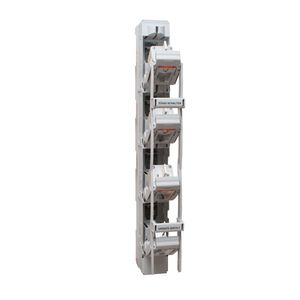 interruttore-sezionatore a fusibile / con fusibile NH / 4 poli / verticale