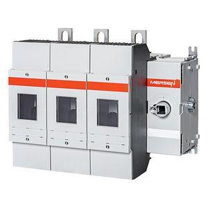 interruttore-sezionatore UL98 / a fusibile / a bassa tensione / 4 poli