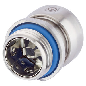 pressacavo in acciaio inossidabile / IP68 / IP69 / resistente alla corrosione