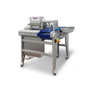 spiedinatrice per carne / automatica / continua / pneumatica